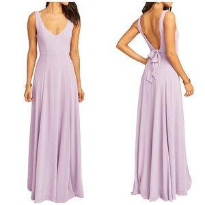 Show Me Your Mumu Jenn violet maxi dress gown